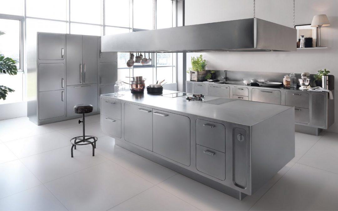 Cocinas en acero inoxidable loredo muebles Articulos de cocina de acero inoxidable