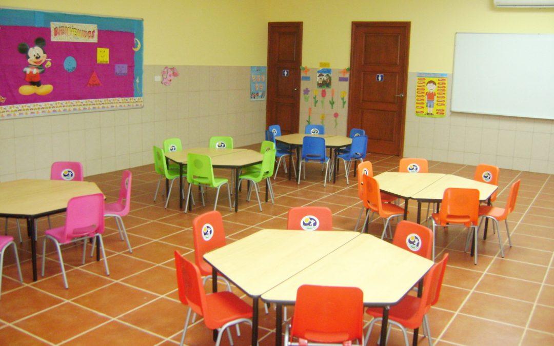 Características del mobiliario escolar y su mantenimiento