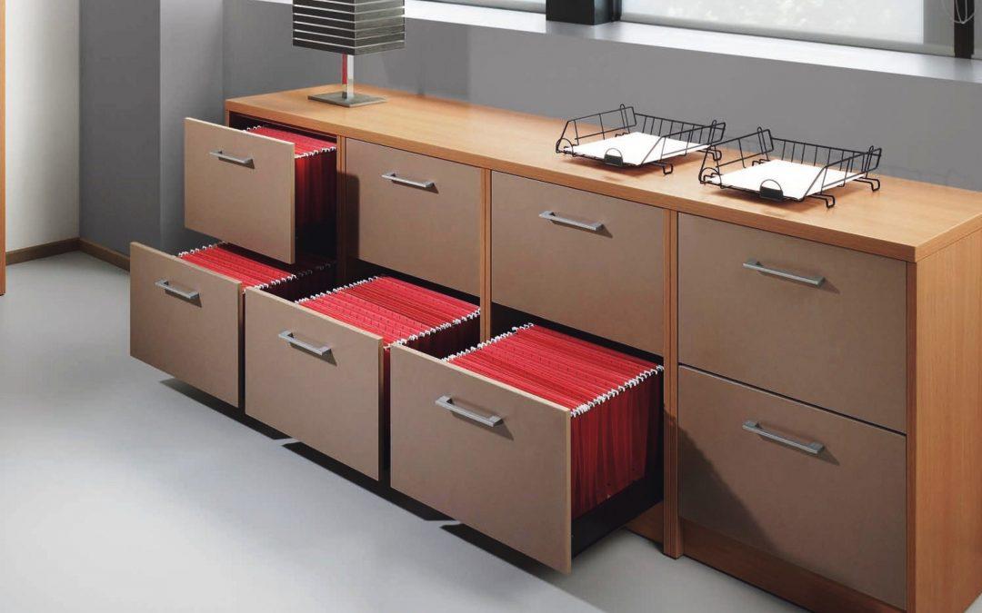¿Qué son los archiveros de oficina?