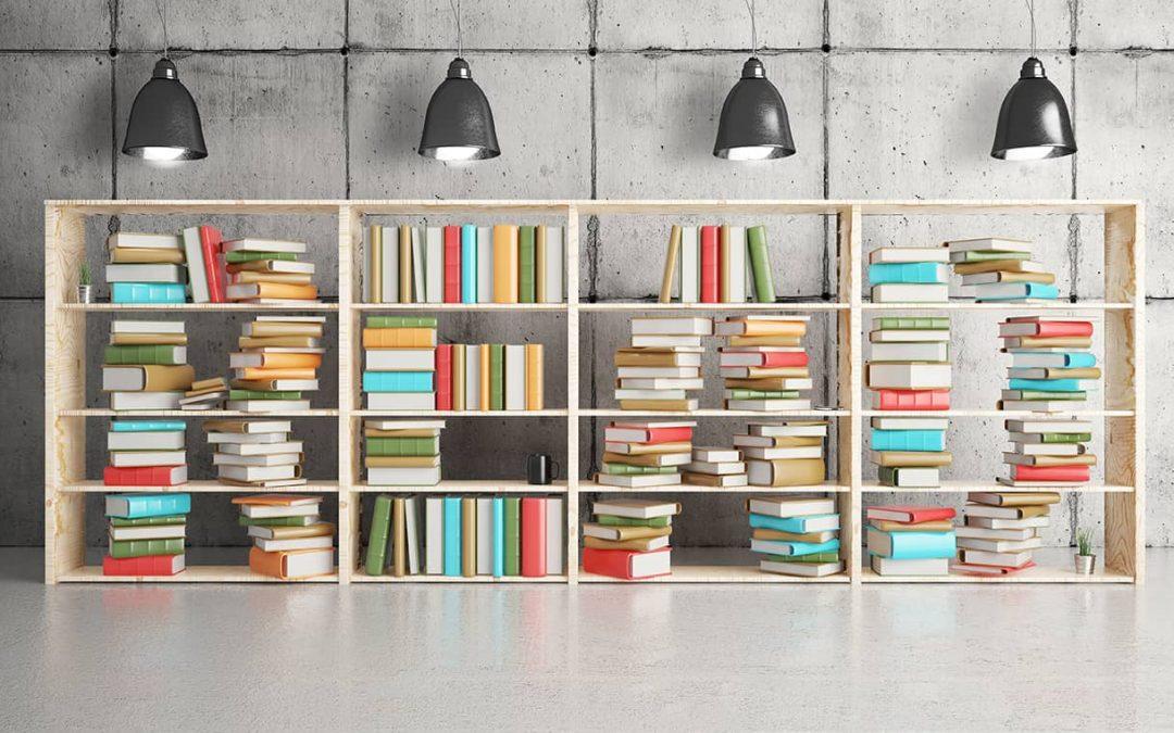 ¿Cómo acomodar un librero para que luzca bonito?