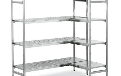 ¿Por qué usar estantes de metal?