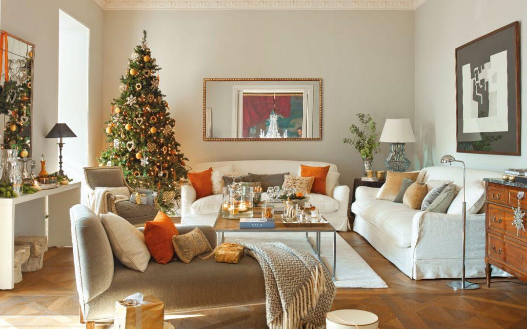 La elección de la decoración navideña según tus muebles